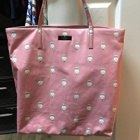 dd46e727f2fe kate spade Handbags - Kate Spade DAYCATION BON SHOPPER PAINTERLY OWL